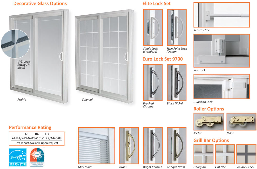 Euro Choice Slide Patio Doors Offer Modern, Sleek And Desirable Esthetics,  Combined With The Effortless Functionality Of A Non Space Consuming Patio  Door.