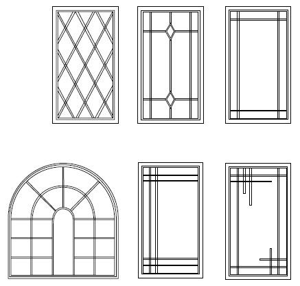 Window Grids & Shapes | Euro Choice Windows & Doors